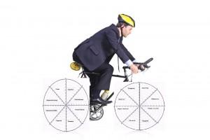 Велосипедист бизнес